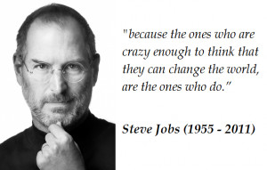 Jobs was an ambitious man motivated by a desire for excellence and ...
