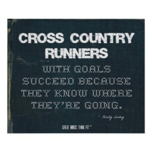 Cross Country #Runners with Goals Succeed in Denim > Motivational ...