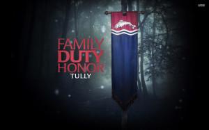 Family, Duty, Honor wallpaper 1920x1200