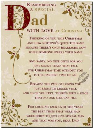 Remembering Dad At Christmas
