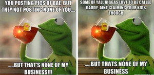 Kermit Memes But That´s None Of My Business Tho 1 - What The Vogue8