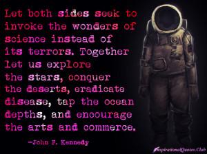 Let both sides seek to invoke the wonders of science instead of its ...