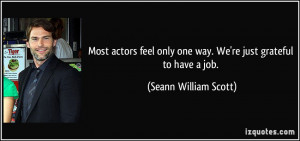 More Seann William Scott Quotes