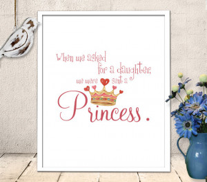 ... - Baby Girl Princess Quote - wall art quote - INSTANT DOWNLOAD (69