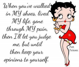 betty boop with the scoop