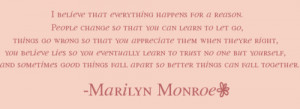believe, marilyn monroe, quote, text