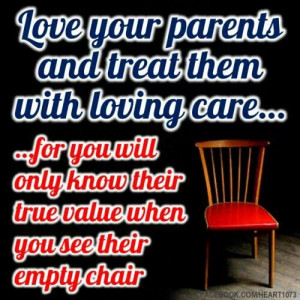 Treat your parents with TLC