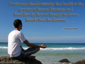 Health Quotes-Thoughts-Hippocrates-Health is Great-Best Quotes-Nice ...