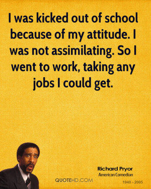 Richard Pryor Work Quotes