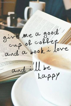 Coffee and books. FACT