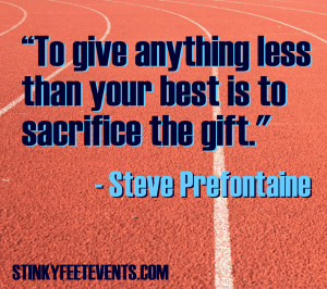 Funny Running Quote Stinky Feet Events Blog