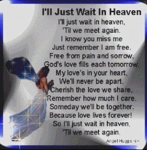 Missing My Son in Heaven | ll Just Wait In Heaven | My son,my Angel in ...