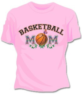 Basketball Mom Girls T-Shirt