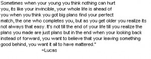 Lucas Quote - lucas-scott Photo