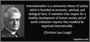Internationalism quote #2