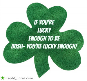 You can accomplish more with a kind word and a shillelagh than you ...