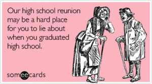 My 20 Year High School Reunion: To Go or Not To Go?