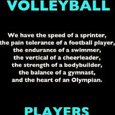 Volleyball Quotes on Posters for Motivation