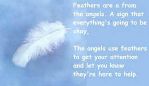 Angels and White Feathers - White Feathers are a sign from your angels