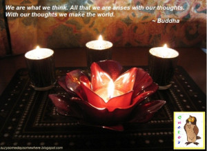 Love Quotes - Buddha - Our Thoughts