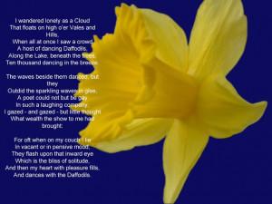 Daffodil poem | Daffodils, to daffodils
