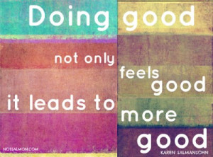Doing good not only feels good…
