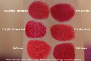 nyx matte perfect red lipstick
