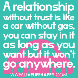 Relationship Trust Quotes And Sayings