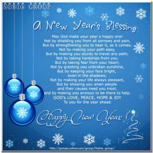 Today's New year Devotion