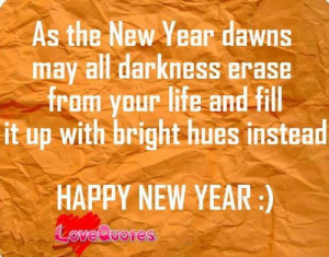 Happy love quotes: Happy New Year Quotes
