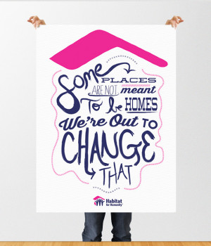 Ad Series for Habitat for Humanity