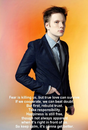 Thought 3: Patrick Stump Quote photo 1