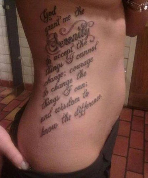 Side Piece Tattoos for Women Quotes
