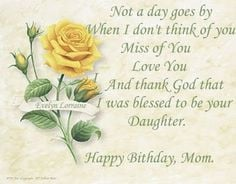 birthday to mother in heaven quotes that fallen angel happy birthday ...
