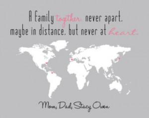 Gift for Family - Gift For Wife - Custom Gift - Long Distance - Custom ...