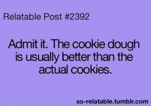 funny cookie dough, quotes