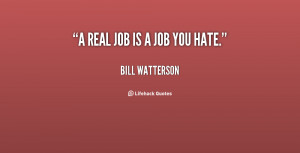 Real Job Quotes