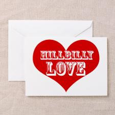 Hillbilly LOVE Greeting Card for