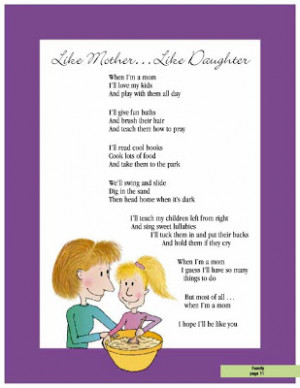 ... daughter poems and quotes mothers day poems from favorite quotes poems