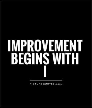 Improvement Quotes Self improvement quotes