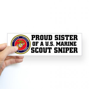 Proud Marine Sister Quotes