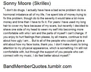 Sonny Moore (Skrillex)