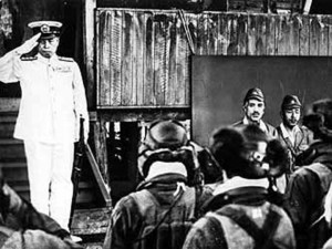 The last picture of Adm. Yamamoto alive. It was taken shortly before ...