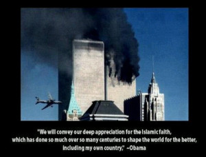 ... Hussein Obama and Islam have a shared goal: destruction of America