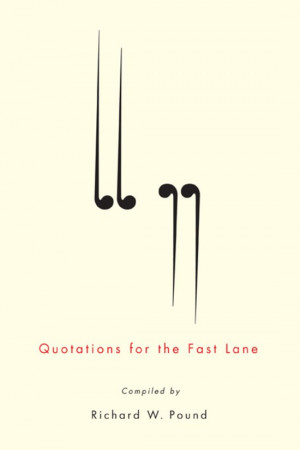 Quotations for the Fast Lane EBOOK