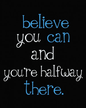 ... 're halfway there! :) #quote #belief #believe #recovery #sobriety