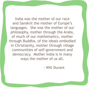 My Favourite Quote About India
