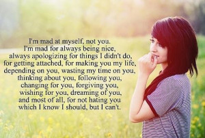 girl, love, quotes, smile