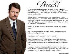 Ron's advice line