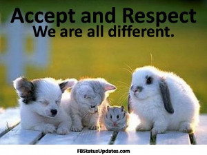 Showing respect for others is one of the most important values in the ...